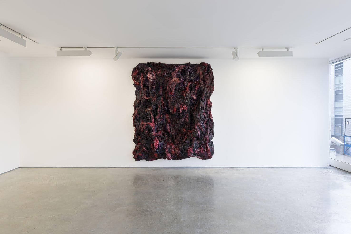 Anish Kapoor <em>Shedding</em>, 2014. Silicone and pigment 235 x 199 x 65 cm © the artist; Courtesy, Lisson Gallery, London (image ref #: KAPO150013)