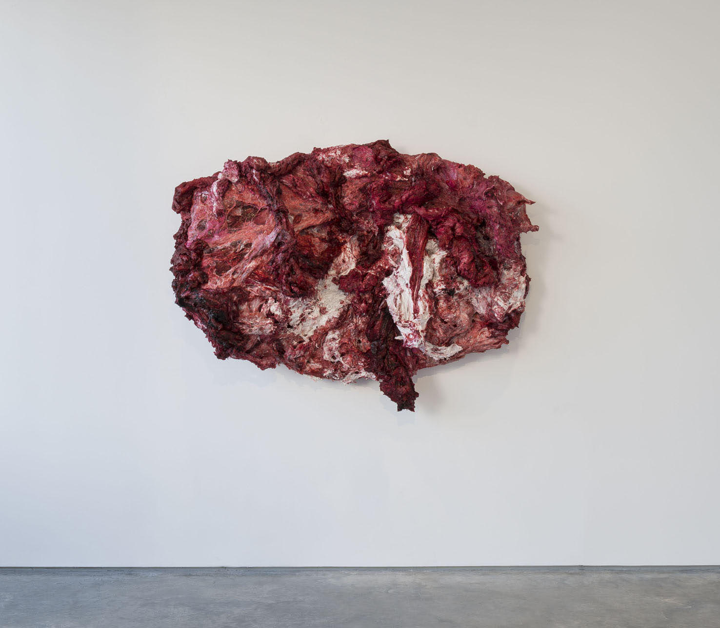 Anish Kapoor <em>Disrobe</em>, 2013. Silicone and pigment 140 x 188 x 55 cm © the artist; Courtesy, Lisson Gallery, London (image ref #: KAPO150015)