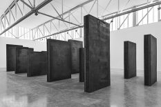 From GalleriesNow.net - Richard Serra: Above Below Betwixt Between, Every Which Way, Silence (For John Cage), Through @Gagosian West 24th St, New York Chelsea