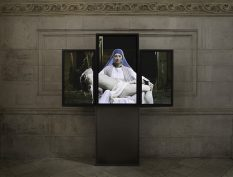 From GalleriesNow.net - Bill Viola: Mary @Blain|Southern, Hanover Sq, London