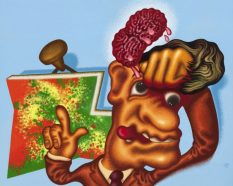 From GalleriesNow.net - Peter Saul: Some Terrible Problems @Michael Werner Gallery, Mayfair, London West End