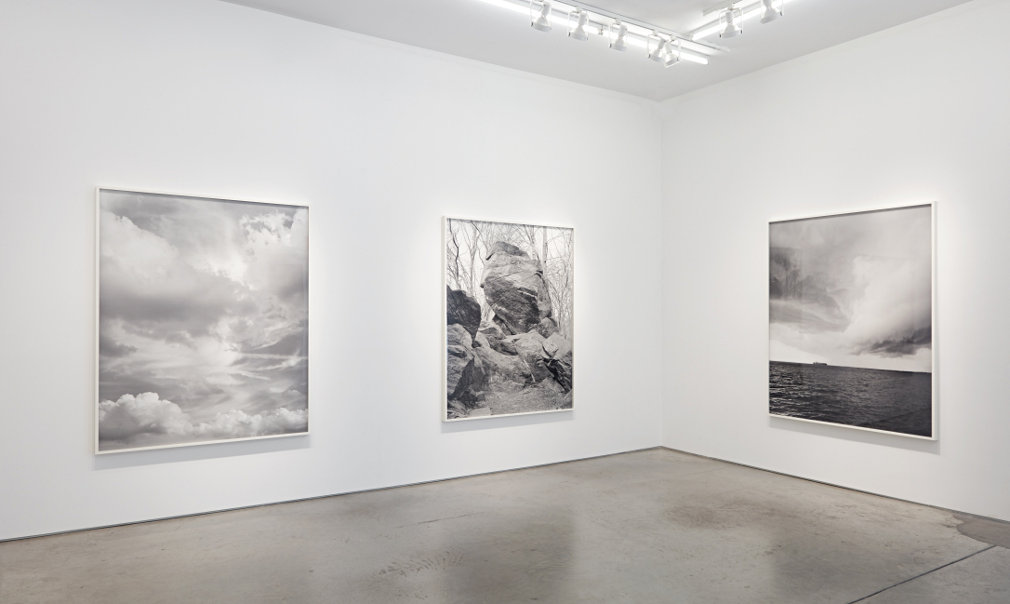 From GalleriesNow.net - Mitch Epstein: Rocks and Clouds @Yancey Richardson Gallery, New York