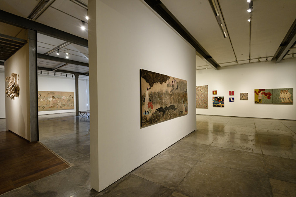 From GalleriesNow.net - Dhruvi Acharya: After the Fall @Chemould Prescott Road, Mumbai