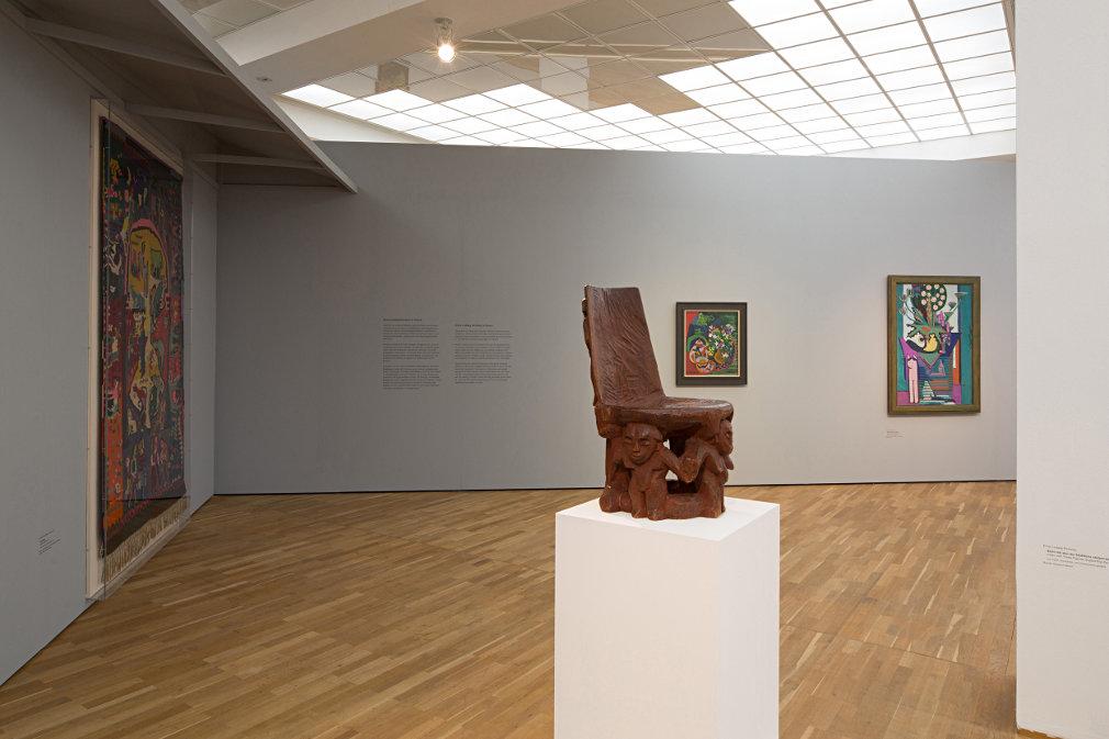 From GalleriesNow.net - Ernst Ludwig Kirchner: Hieroglyphics @Hamburger Bahnhof - Museum fur Gegenwart, Berlin