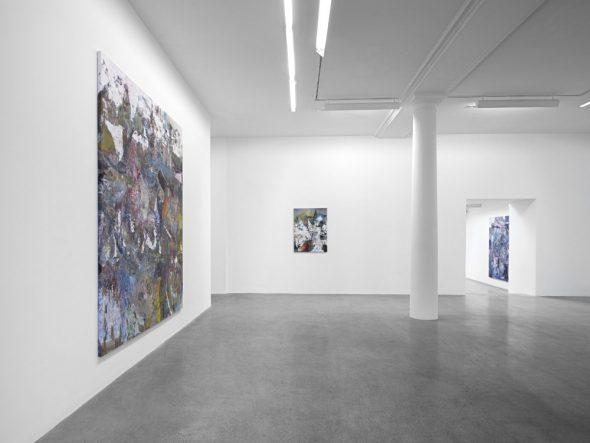 From GalleriesNow.net - Liam Everett: panem et Circen @kamel mennour, r. Saint-André des arts, Paris