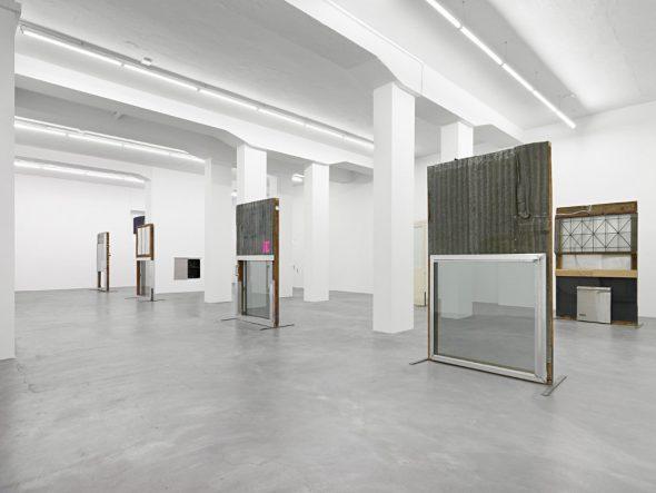 From GalleriesNow.net - Oscar Tuazon: See Through @Galerie Eva Presenhuber, Löwenbräu Areal, Zürich