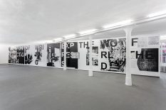 From GalleriesNow.net - Adam Pendleton: shot him in the face @KW Institute for Contemporary Art, Berlin