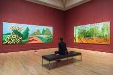 From GalleriesNow.net - David Hockney @Tate Britain, London