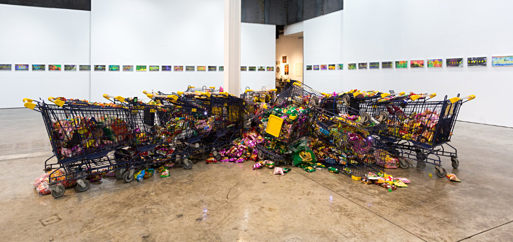 From GalleriesNow.net - Sophia Al Maria: EVERYTHING MUST GO @The Third Line, Dubai