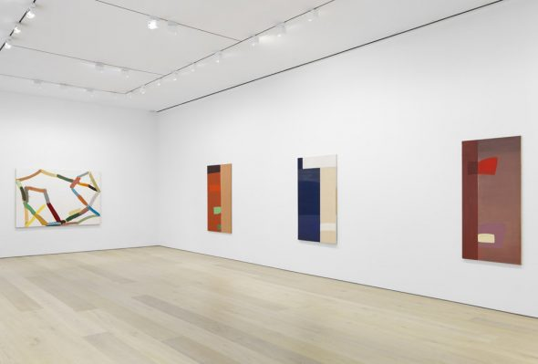 From GalleriesNow.net - Al Taylor: Early Paintings @David Zwirner 20th St, New York Chelsea