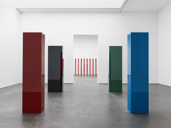 From GalleriesNow.net - John McCracken @David Zwirner 20th St, New York Chelsea