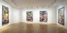 From GalleriesNow.net - Julian Schnabel: Shiva Paintings @Galerie Daniel Templon, Paris