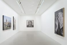 From GalleriesNow.net - JR: Wrinkles of the city, Istanbul @Perrotin, r. de Turenne, Paris