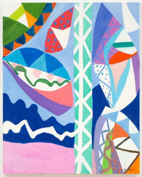 From GalleriesNow.net - Gillian Ayres: Paintings & Woodcuts @Alan Cristea Gallery, London West End