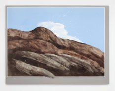 From GalleriesNow.net - Llyn Foulkes @David Zwirner 19th St, New York