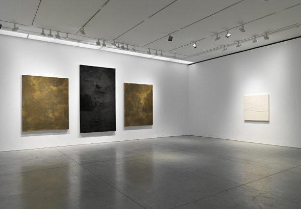 From GalleriesNow.net - Pier Paolo Calzolari: AND I SAY @Marianne Boesky Gallery 24th St, New York