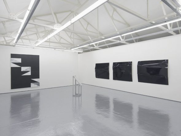From GalleriesNow.net - Gardar Eide Einarsson and Oscar Tuazon @Maureen Paley, London