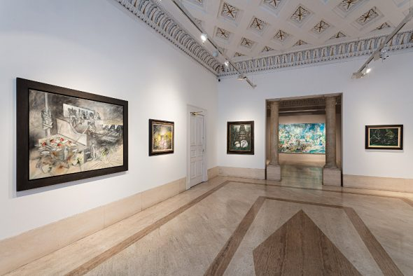 From GalleriesNow.net - Roberto Matta: On the Edge of a Dream @Robilant + Voena, London, London West End
