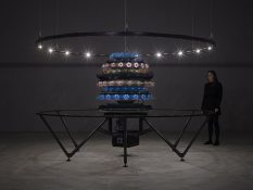 From GalleriesNow.net - Mat Collishaw: The Centrifugal Soul @Blain Southern, Hanover Sq, London