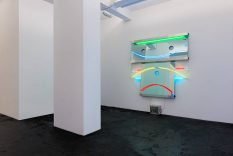 From GalleriesNow.net - Keith Sonnier: Portal Series and Selected Early Works @Häusler Contemporary Zürich, Zürich