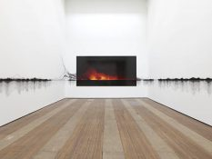 From GalleriesNow.net - Teresita Fernández: Fire (America) @Lehmann Maupin Chrystie St, New York