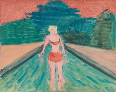 From GalleriesNow.net - Milton Avery @Victoria Miro Mayfair, London