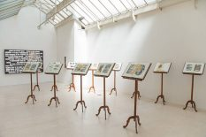 From GalleriesNow.net - Emilio Isgrò @Tornabuoni Art, Paris