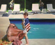 From GalleriesNow.net - Eric Fischl: Late America @Skarstedt, Chelsea, New York