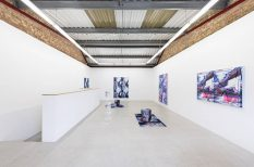 From GalleriesNow.net - Anne Vieux: mesh @Annka Kultys Gallery, London