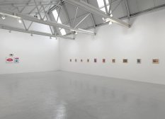 From GalleriesNow.net - Brian Calvin: Major Minor @Corvi-Mora, London