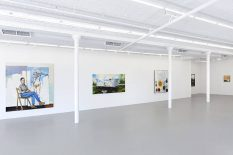 From GalleriesNow.net - Verne Dawson: Tinnitus @Gavin Brown's enterprise, New York
