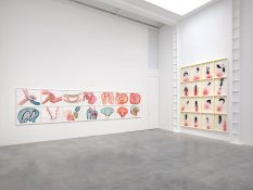 From GalleriesNow.net - Jorinde Voigt: Both Sides Now @Lisson Gallery, London