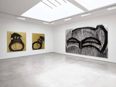 From GalleriesNow.net - Joyce Pensato: FORGETTABOUT IT @Lisson Gallery, London