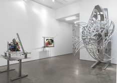 From GalleriesNow.net - Frank Stella @Marianne Boesky Gallery 24th St, New York