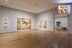 From GalleriesNow.net - Robert Rauschenberg: Among Friends @MoMA, New York, New York