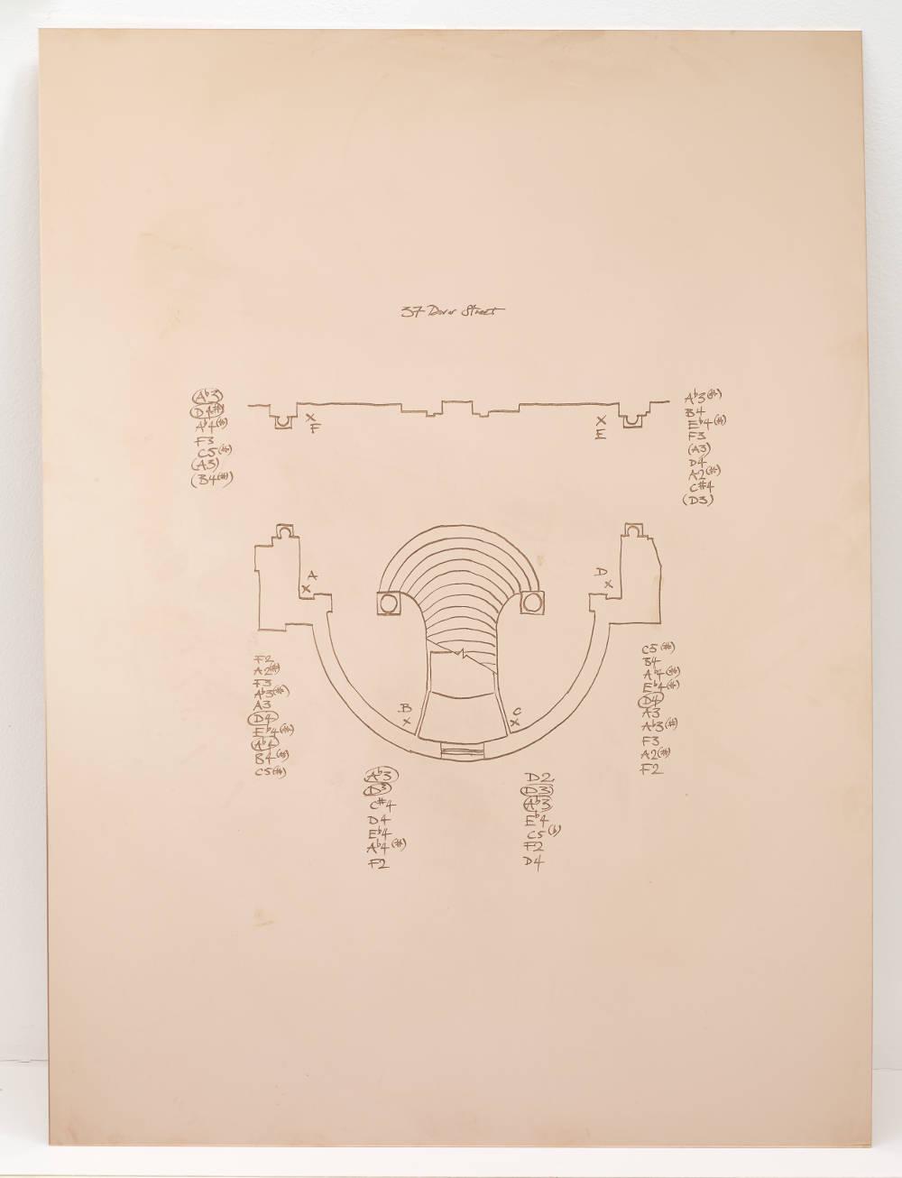 Oliver Beer, Composition for London (Score I), 2017