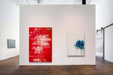 From GalleriesNow.net - Mel Bochner: Voices @Peter Freeman, Inc, New York