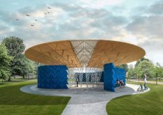 From GalleriesNow.net - Serpentine Pavilion 2017 designed by Francis Kéré @Serpentine Gallery, London