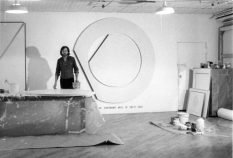 From GalleriesNow.net - Bernar Venet: Looking Forward: 1961-1984 @Blain|Southern, Hanover Sq, London West End