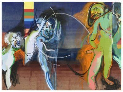 From GalleriesNow.net - Daniel Richter: Le Freak @Galerie Thaddaeus Ropac, Marais, Paris