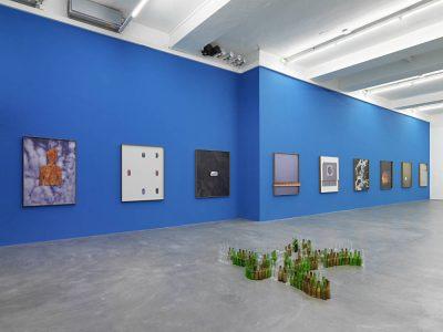 From GalleriesNow.net - Valentin Carron: Insieme @Galerie Eva Presenhuber, Löwenbräu Areal, Zürich