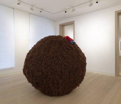 From GalleriesNow.net - Rosemarie Trockel: Knitted Works @Skarstedt, London, London West End