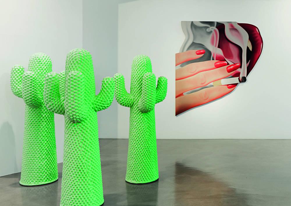 Ordovas Marilyn Flowers Lips Gun Mirror Cactus 6