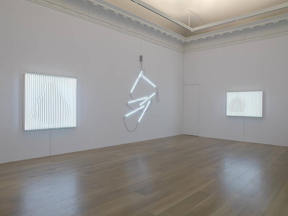 Levy Gorvy New York Neon in Daylight Francois Morellet 1