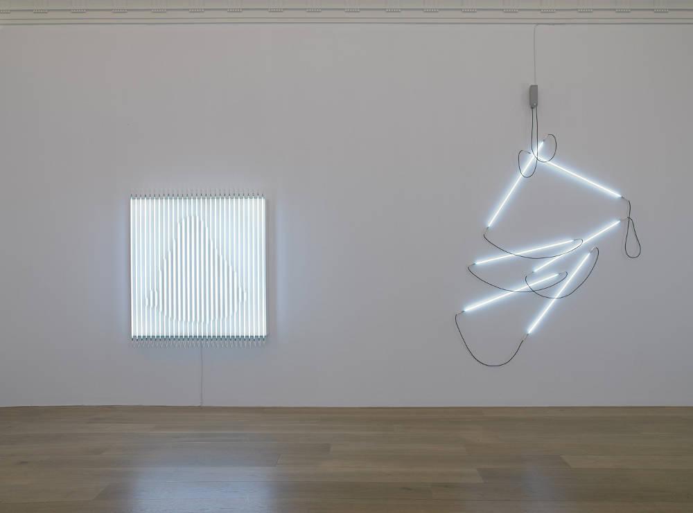 Levy Gorvy New York Neon in Daylight Francois Morellet 2