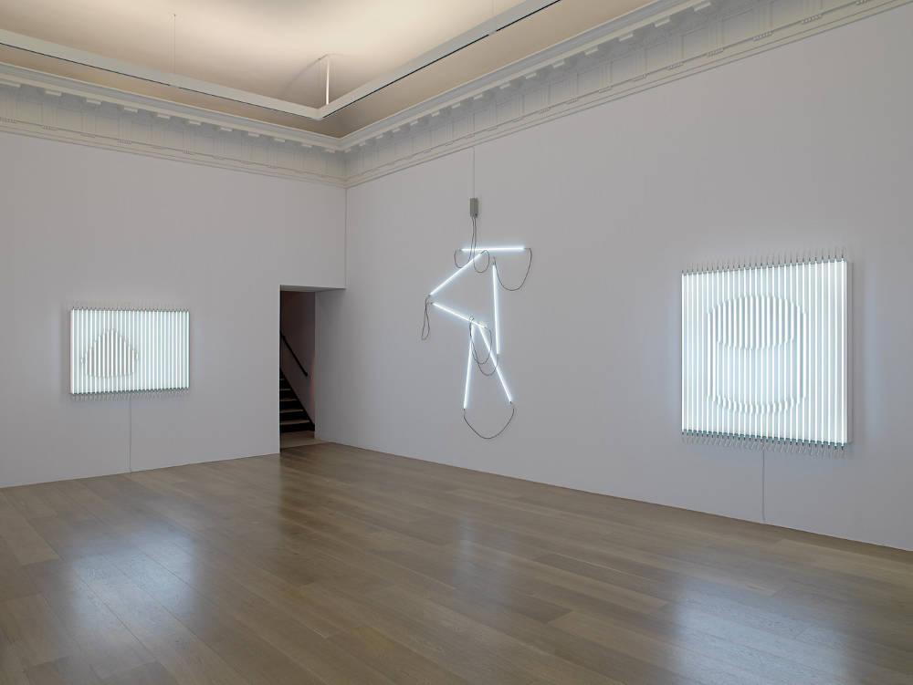 Levy Gorvy New York Neon in Daylight Francois Morellet 3