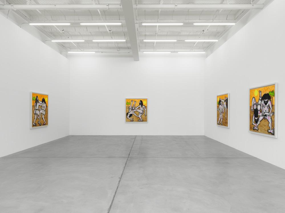Galerie Eva Presenhuber Carroll Dunham 1
