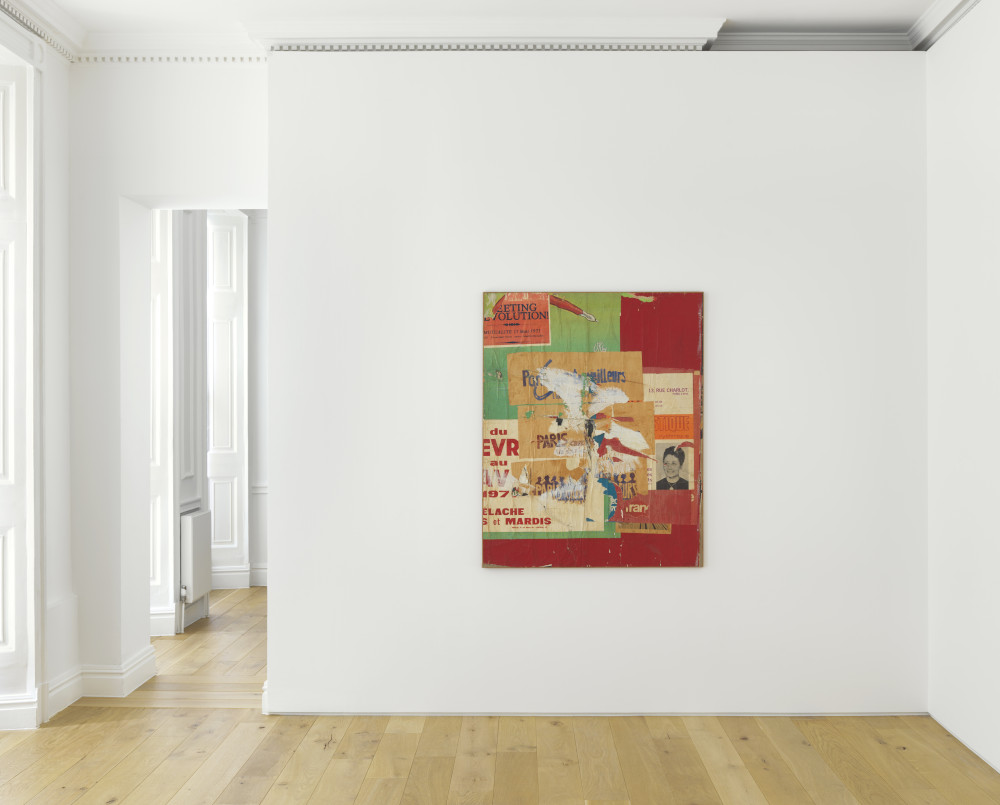 Galerie Max Hetzler Raymond Hains 3