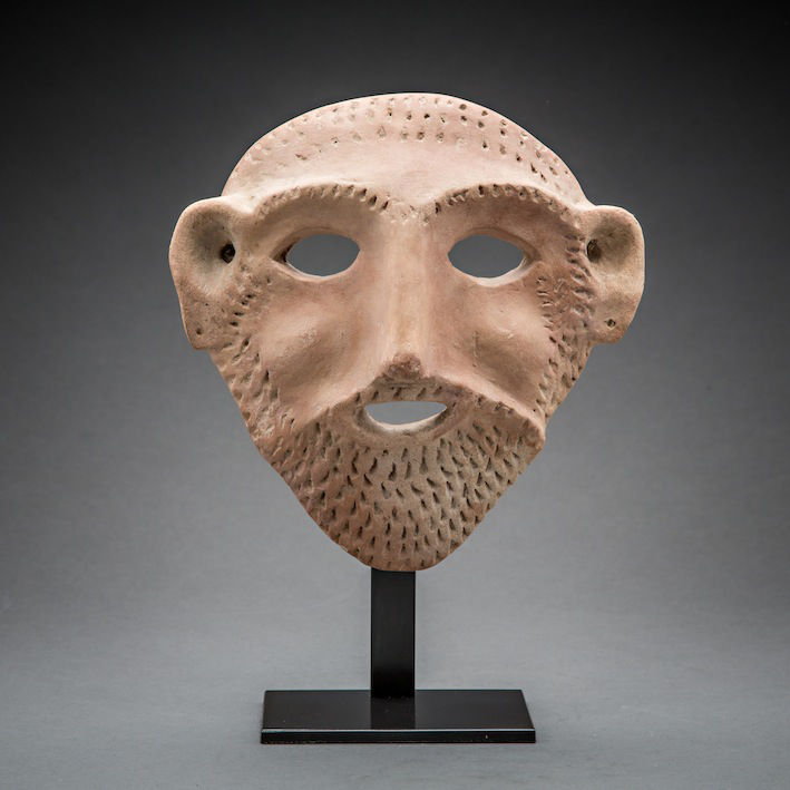 Bronze Age Mask