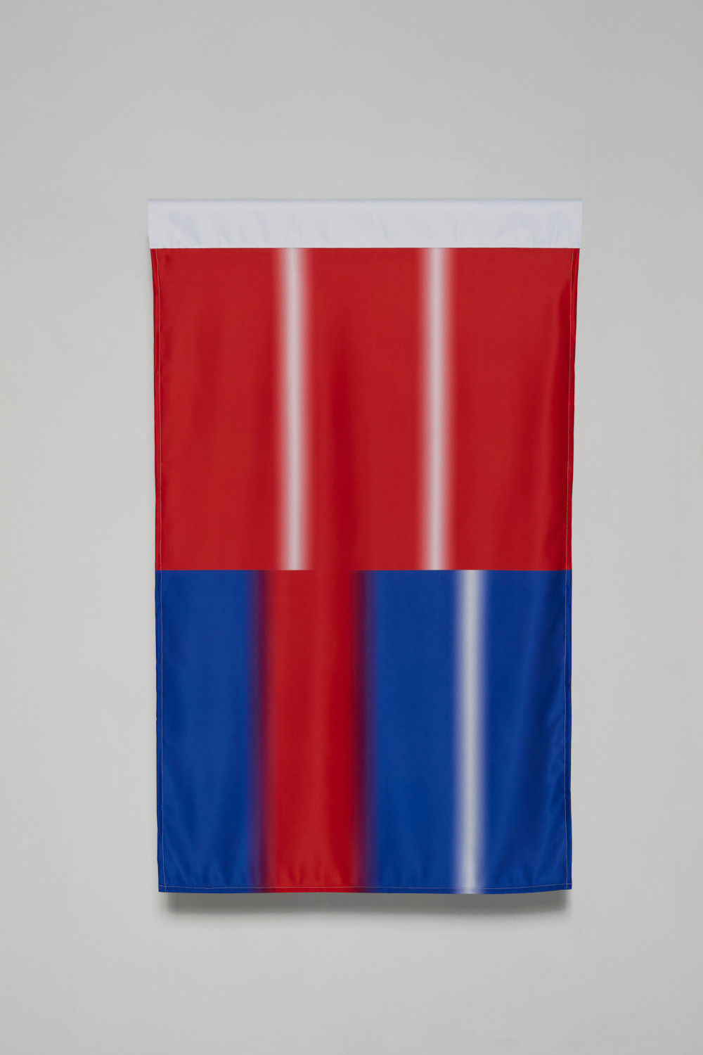 Art is only a continuation of war by other means (flags)
